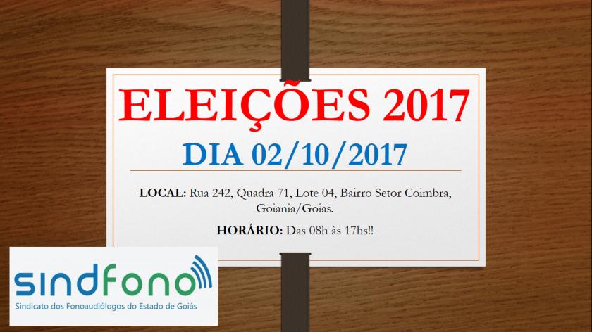 ELEIÇÕES 20172